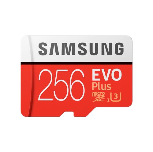 Carte mémoire microSD 256 Go Samsung EVO Plus avec adaptateur