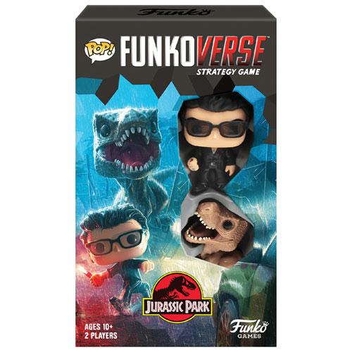 Pop! Funkoverse: Jurassic Park 101 Expandalone Board Game - English
