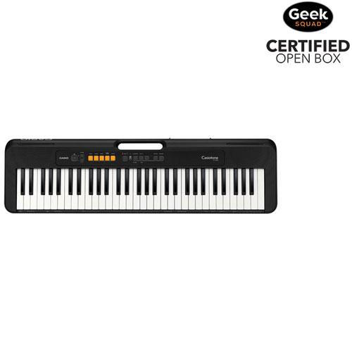 Clavier électrique à 61 touches CT-S100 de Casio - Noir - Exclusivité Best Buy - Boîte ouverte