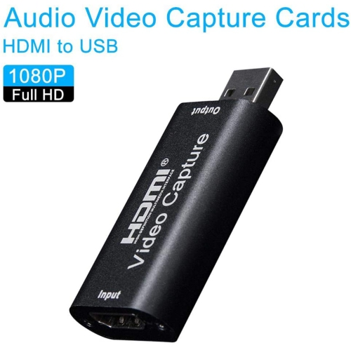 Live Broadcast Teaching Recording Mini Portable Game Capture Box for Imaging USB HDMI Video Capture Card High Definition Acquisition