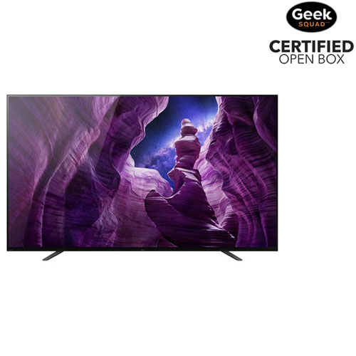 """Sony BRAVIA 65"""" 4K UHD HDR OLED Android Smart TV - Open Box"""