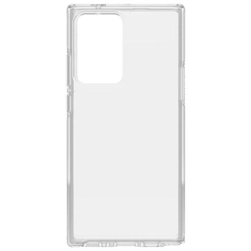 Étui rigide ajusté Symmetry d'OtterBox pour Galaxy Note20 Ultra - Transparent