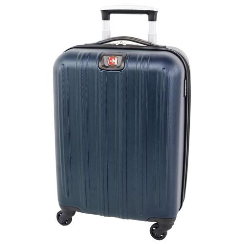 "SWISSGEAR Mammoth 20"" Hard Side Carry-On Luggage - Blue - Open Box"