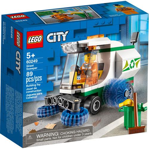 LEGO City : La balayeuse de voirie - 89 pièces