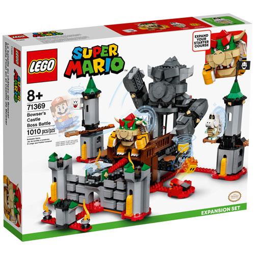 LEGO Super Mario: Bowser's Castle Expansion Set - 1010 Pieces