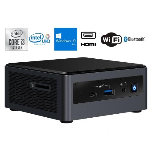 Custom Intel NUC10i3FNH Desktop
