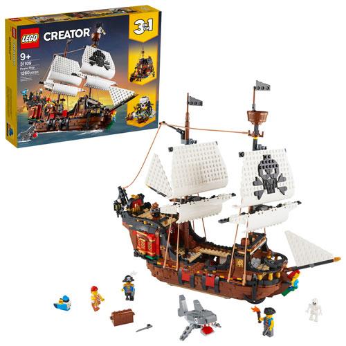 LEGO Creator: 3-in-1 Pirate Ship - 1260 Pieces