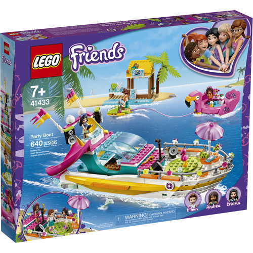 LEGO Friends: Party Boat - 640 Pieces