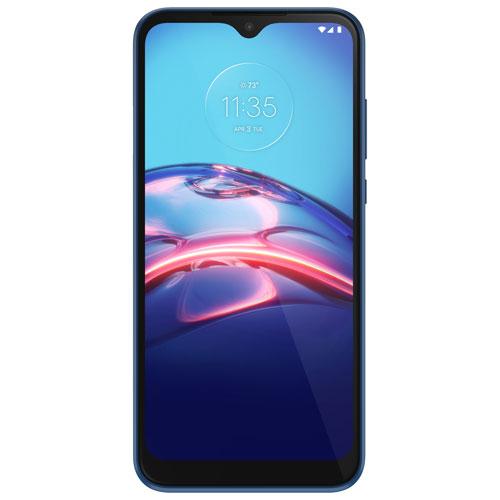 Chatr Motorola Moto E 32GB - Midnight Blue - Prepaid