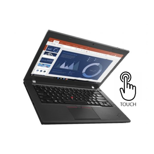 Refurbished Lenovo Thinkpad T460S i7-6600U 16G RAM 512 GB SSD, W10 Professional Touch Screen