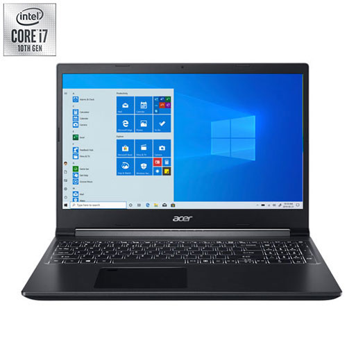 Acer Aspire 7 15 6 Gaming Laptop Black Intel Core I7 10750h 512gb Ssd 16gb Ram Nvidia Gtx 1650 Best Buy Canada
