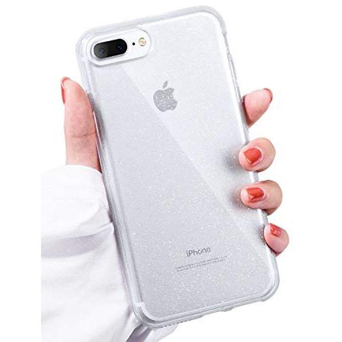 Idwell Iphone 8 Plus Case Iphone 7 Plus Case Clear Glitter Series Bling Sparkle Slim Fit Hybrid Shock Absorption Tpu Bu Best Buy Canada