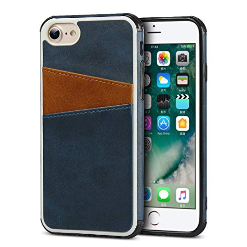 For Iphone 6 Case 7 Cases Cavor Leather Wallet Phone Case With Card Holder Slim Back Cover Case Compatible With Iphone Best Buy Canada