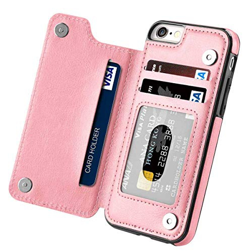 Iphone 8 Plus Wallet Case With Card Holder Cobirie Premium Iphone 7 Plus Wallet Case Kickstand Features Iphone 7 Plus Leat Best Buy Canada