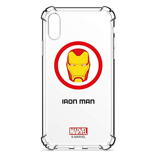 Marvel Avengers Crystal Clear iPhone 7 Plus/iPhone 8 Plus Case, Slim Transparent TPU Cover with Soft Shock Absorption Bumpe...