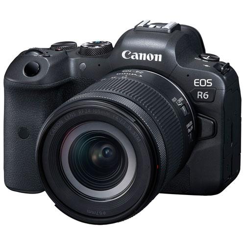 Canon EOS R6 Full-Frame Mirrorless Camera with 24-105mm STM Lens Kit