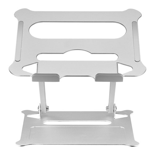 Insignia Ergonomic Adjustable Laptop Stand - Silver - Only at Best Buy