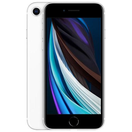 Apple iPhone SE 128GB Smartphone - White - Unlocked - Refurbished
