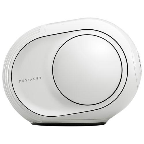 Haut-parleur multipièce sans fil Phantom II 95 dB de Devialet - Blanc emblématique