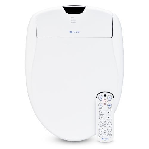 Swash 1400 siège de toilette bidet de luxe, blanc allongé