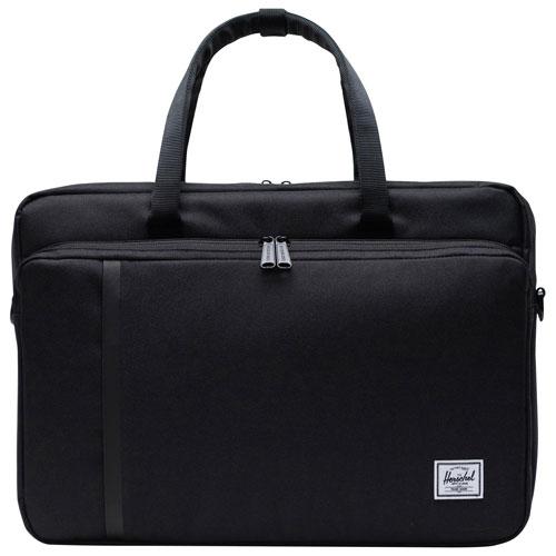"Herschel Supply Co. Gibson 15.6"" Laptop Messenger Bag - Black"