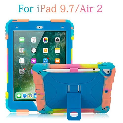 Aceguarder Ipad 9 7 Case 2018 Ipad 6th Generation Case 2017 Ipad 5th Generation Case Ipad Air 2 Kids Case Shockproof Best Buy Canada