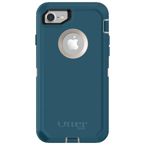 Étui rigide ajusté Defender d'OtterBox pour iPhone SE (2e gén.)/8/7 - Big Sur