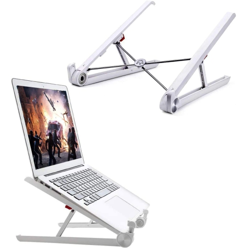 DURAMEX Portable Laptop Desk Stand Foldable Ventilated for MacBook and Notebook