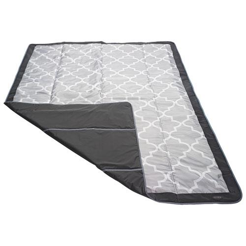 Tapis d'extérieur en polyester de JJ Cole - 5 x 7 pi - Gris
