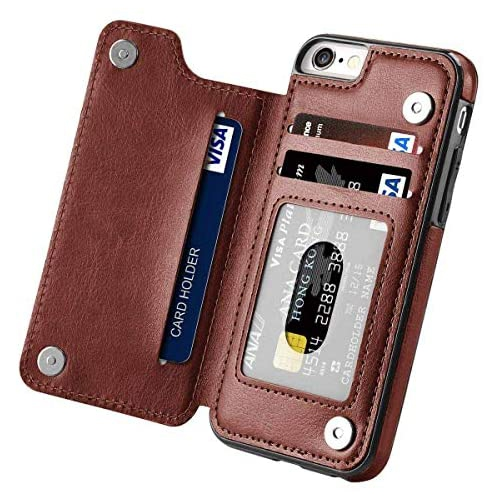Iphone 8 Plus Wallet Case With Card Holder Cobirie Premium Iphone 7 Plus Wallet Case Kickstand Features Iphone 7 Plus Best Buy Canada