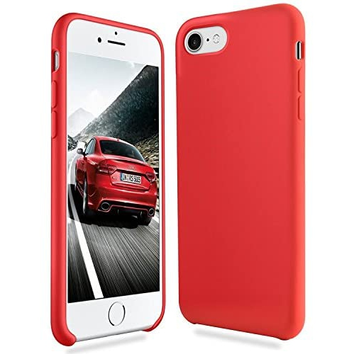 Iphone 8 Case Iphone 7 Case Fuleadture Liquid Silicone Gel Rubber Shockproof Mobile Phone Case Slim Soft Protective Best Buy Canada