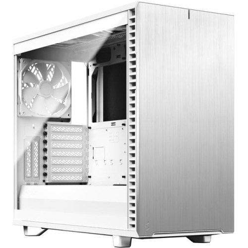 Fractal Design Define 7 White Tg Clear Tint Best Buy Canada