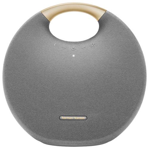 Haut-parleur sans fil Bluetooth étanche Onyx Studio 6 de Harman Kardon - Gris