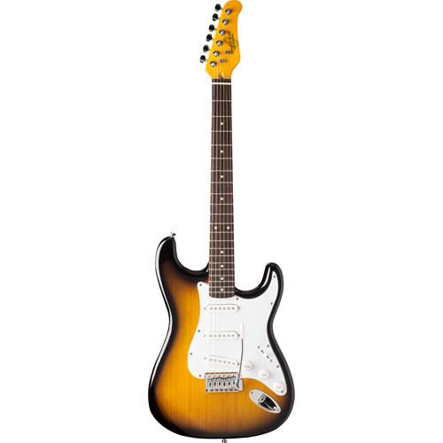 Guitare électrique Oscar Schmidt - Tobacco Sunburst