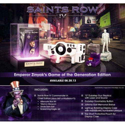 Saints Row IV - Game of the Generation Edition [PlayStation 3]