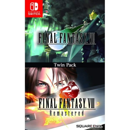 Final Fantasy Vii Final Fantasy Viii Remastered Twin Pack Nintendo Switch Best Buy Canada