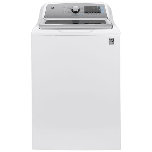 GE 6.0 Cu. Ft. High Efficiency Top Load Washer - White