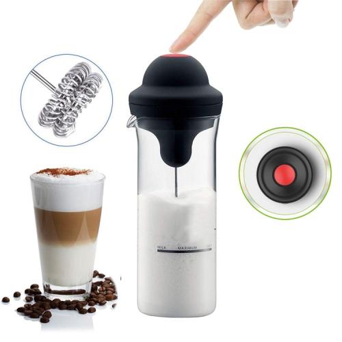 MotionGrey Milk frother electric foamer coffee foam maker ...