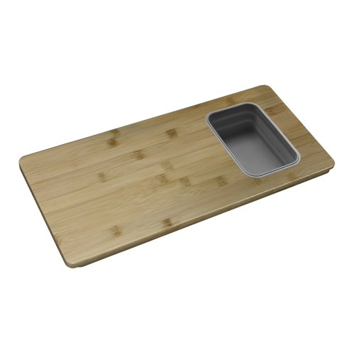 Over the Sink Cutting Board with 1 Container