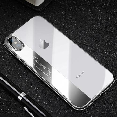 Coque Transparente Ultra Fine Silicone Housse Étui de Protection en Souple Doux TPU Cover Clair Arriere Case pour iPhone XR