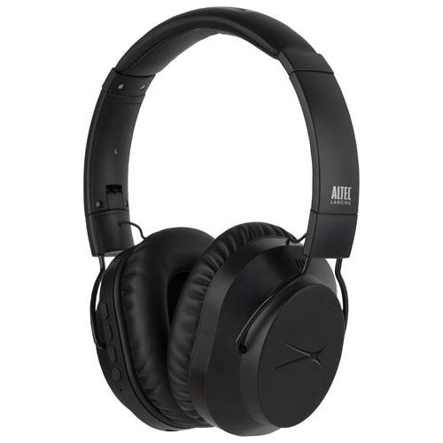 Altec Lansing Whisper ANC Over-Ear Noise Cancelling Bluetooth Headphones - Black
