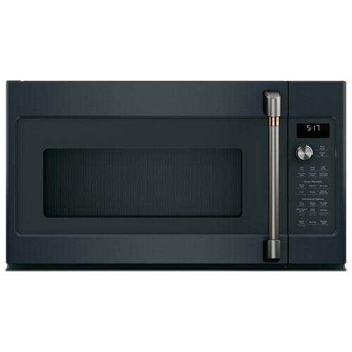 Café Over-The-Range Microwave - 1.7 Cu. Ft. - Matte Black - Open Box - Perfect Condition