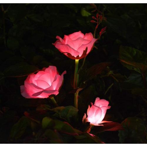 Kalel Solar Pink Rose Flower Lights Garden Decor Waterproof Solar Garden Lights Outdoor Unique Mom Birthday Gifts From Daughter Garden Gifts For Women Birthday Mother Day Best Buy Canada