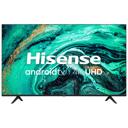 """Hisense 58"""" 4K UHD HDR LED Android Smart TV - 2020"""