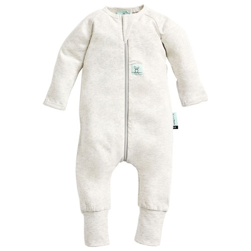 ergoPouch Layers Cotton Baby Sleeper - 3 to 6 Months - Grey Marle
