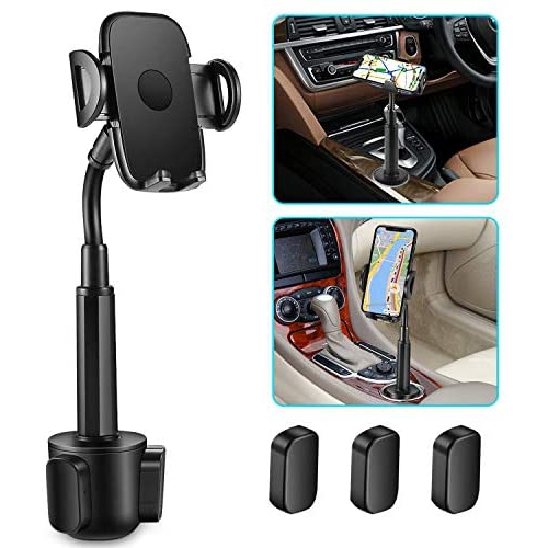 Car Cup Holder Phone Mount Adjustable Gooseneck Portable Cup Holder Car Mount For Iphone Xr Xs Xs Max X 8 7 7 Plus 6s Best Buy Canada