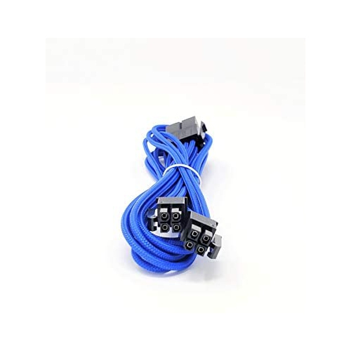White MICRO CONNECTORS F04-240W-KIT Inc Premium Sleeved PSU Cable Extension Kit