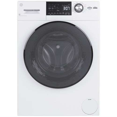 GE 2.8 Cu. Ft. Electric Washer & Dryer Combo - White