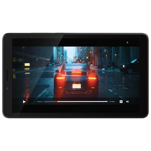 Lenovo Tab M7 7 16gb Android 9 Tablet W Mediatek Mt8321 4 Core Processor Black Only At Best Buy Best Buy Canada