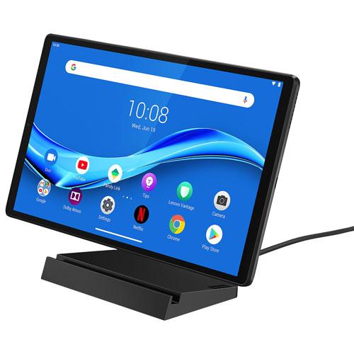 Lenovo Smart Tab M10 10 3 32gb Tablet W Mediatek Helio P22t 8 Core Processor Grey Only At Best Buy Best Buy Canada